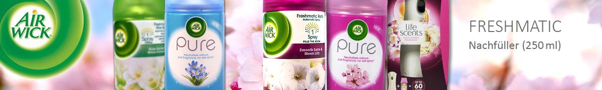 Air Wick Freshmatic Artikelliste