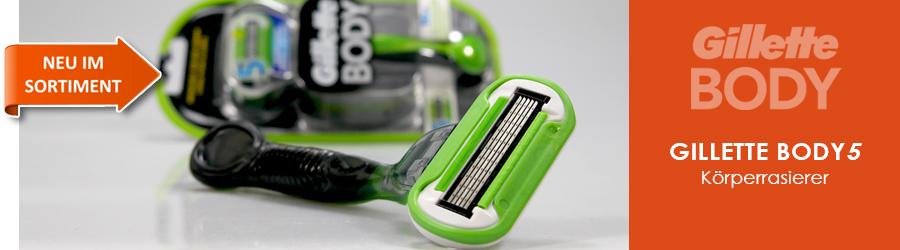 Gillette Body Rasierer