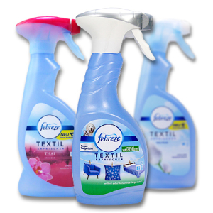 Textile & Air Freshener Sprays
