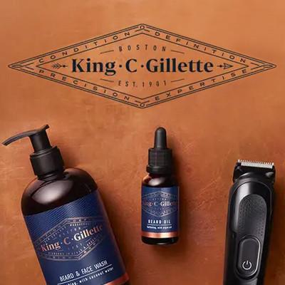 King C. Gillette Beard Care