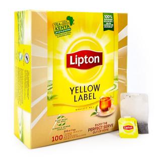 Lipton Yellow Label Black Tea, Pack of 100