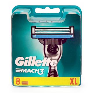 Gillette Mach3 razor blades, pack of 8