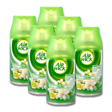 Air Wick Freshmatic Max White Flowers, 250 ml x 6
