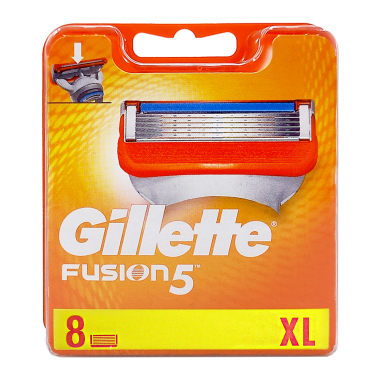 Gillette Fusion razor blades, pack of 8