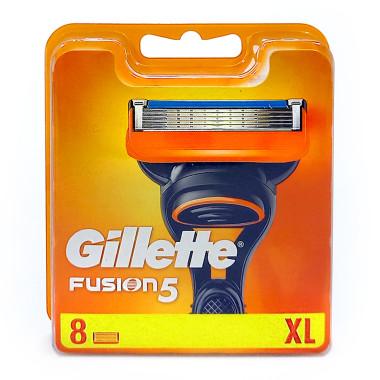 Gillette Fusion razor blades, pack of 8