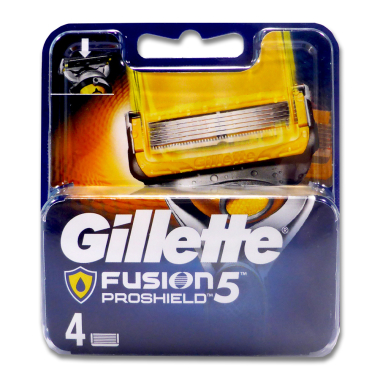 Gillette Fusion ProShield razor blades, pack of 4