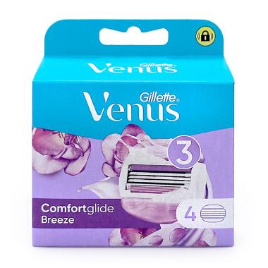 Gillette Venus Breeze razor blades, pack of 4