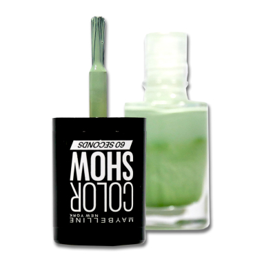 Maybelline Nail Polish Color Show Green With Envy 214