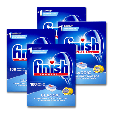 Finish Powerball Classic Lemon dishwasher tabs, pack of...