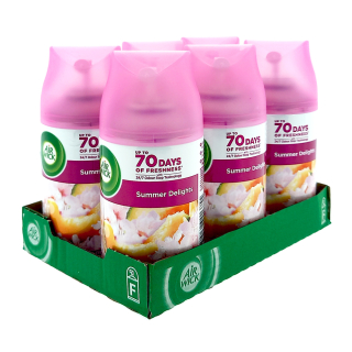 Air Wick Freshmatic Life Scents Summer delights, 250 ml x 6