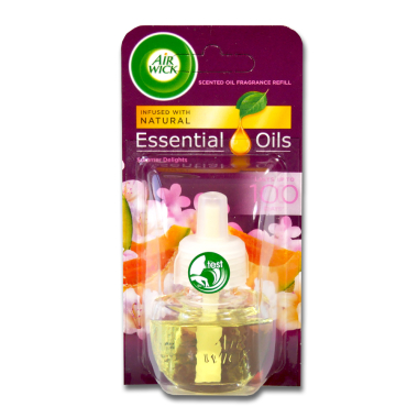 Air Wick fragrance plug-in refill Summer Delights, 19 ml x 6