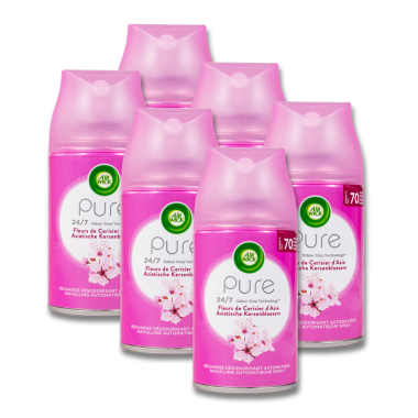 Air Wick Freshmatic Cherry Blossom, 250 ml x 6