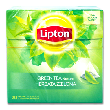 Lipton Green Tea Fresh Nature, pack of 20