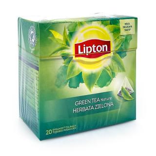 Lipton Green Tea Fresh Nature, pack of 20