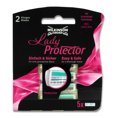 Wilkinson Lady Protector razor blades, pack of 5 x 10