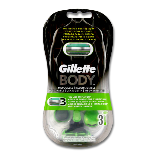 Gillette Body Einwegrasierer, 3er Pack