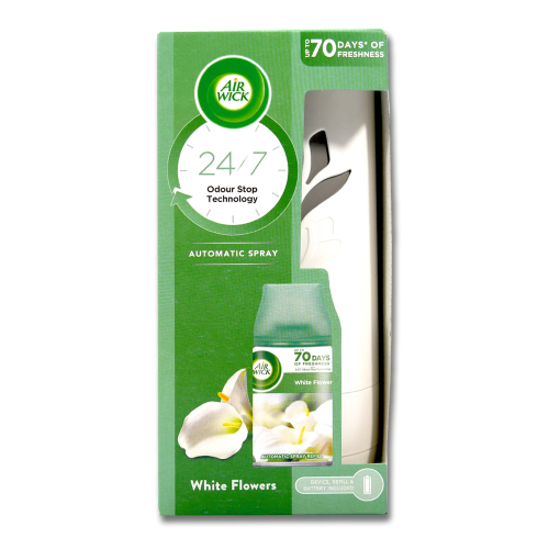 Air Wick Freshmatic Starter Kit Freesia & Jasmine, 250 ml