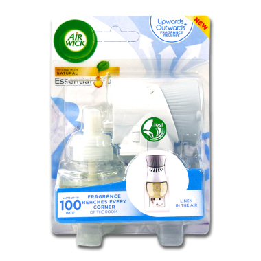 Air Wick plug-in starter kit Linen in the Air, 19 ml