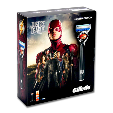 Gillette Fusion ProGlide Flexball Justice League gift set...