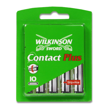 Wilkinson Contact Plus Rasierklingen, 10er Pack x 10