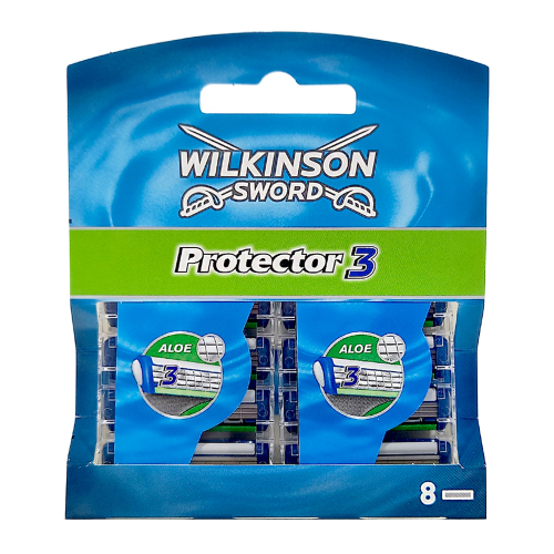 Wilkinson Protector3 razor blades, pack of 8