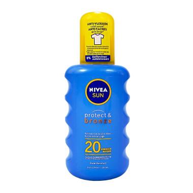 Nivea SUN Protect & Bronze Sun Spray LSF 20, 200 ml
