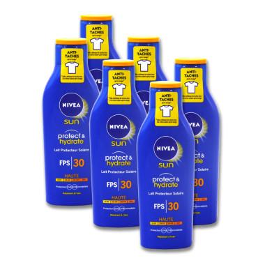 Nivea SUN Protect & Hydrate sun milk SPF 30, 200 ml x 6