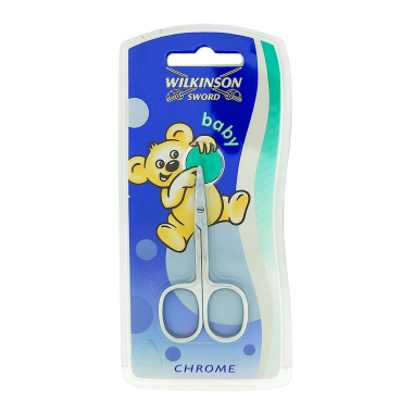 Wilkinson Baby Nail Scissors Chrome