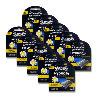 Wilkinson Hydro5 Sense Energize razor blades, pack of 4 x 10