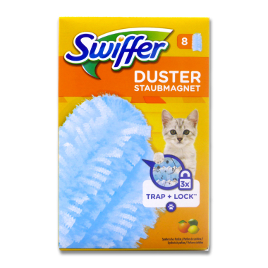 Swiffer Duster Staubmagnet Tücher Citrus, 8er Pack