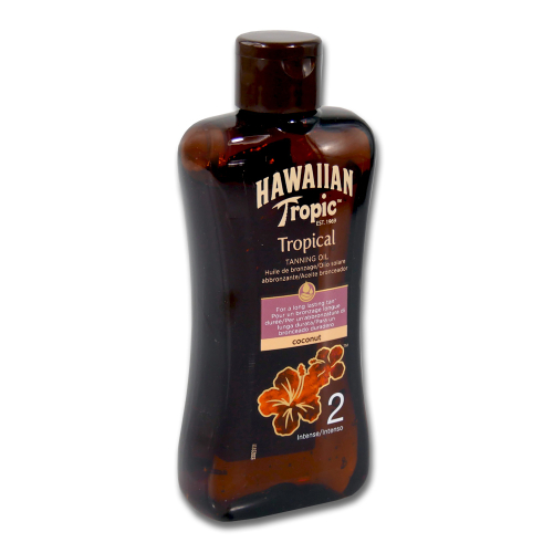 Hawaiian Tropic Tropical Tanning Oil LSF 2, 200 ml