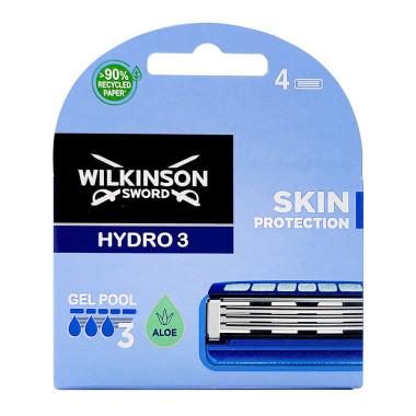 Wilkinson Hydro3 razor blades, pack of 4