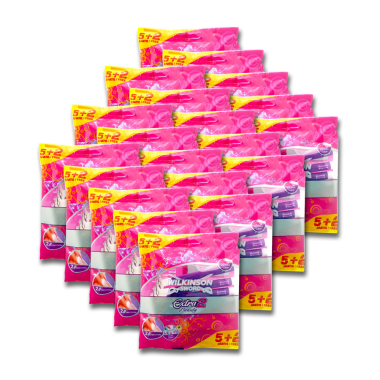 Wilkinson Extra 2 Beauty disposable razor, pack of 7 x 20