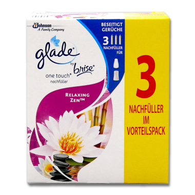 Glade by brise One Touch Nachfüller Relaxing Zen,...