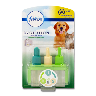 febreze 3volution refill against animal odours, 20 ml