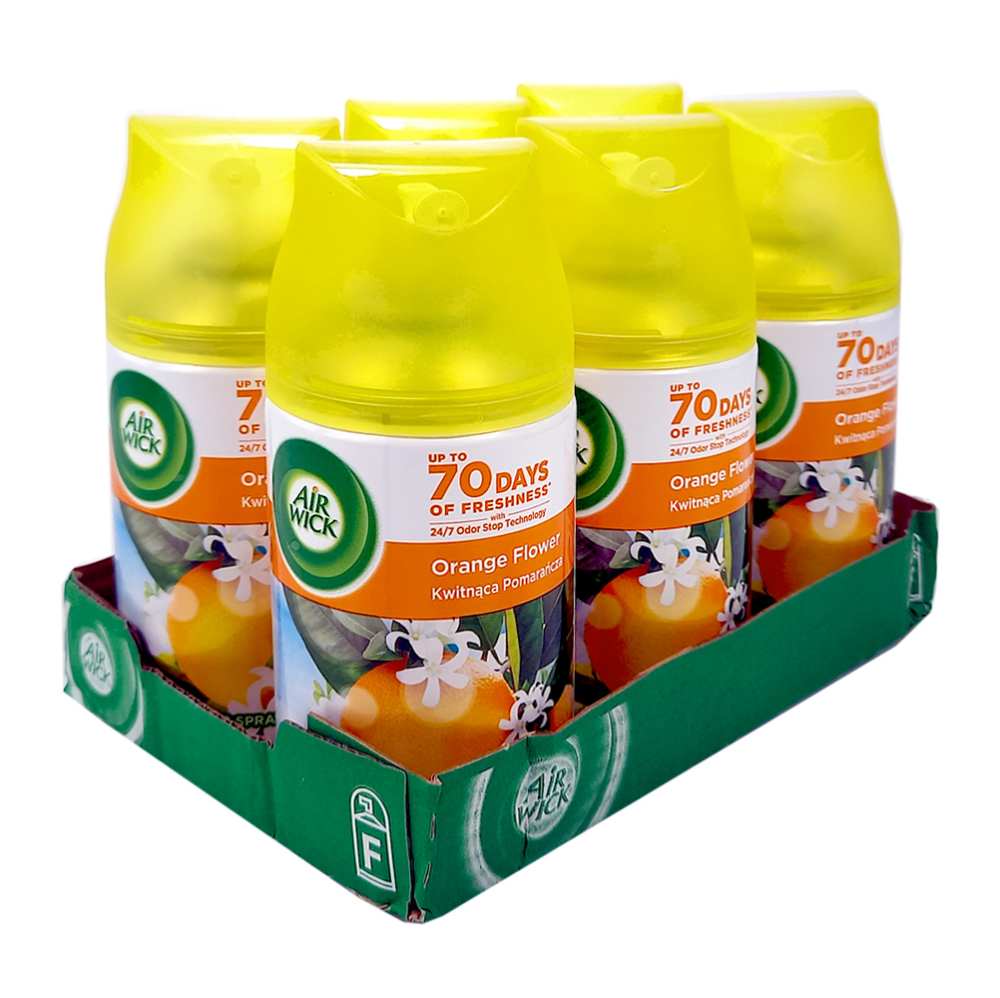Air Wick Freshmatic Max Citrus, 250ml x 6