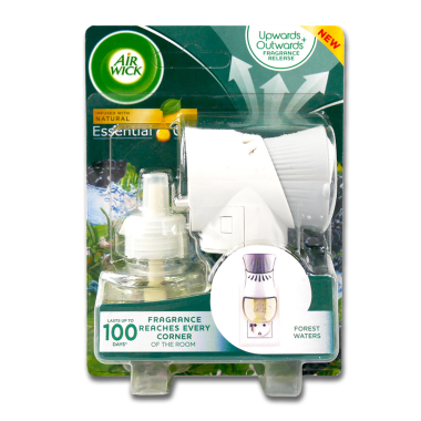 Air Wick fragrance plug starter set Forest Waters, 19 ml x 6