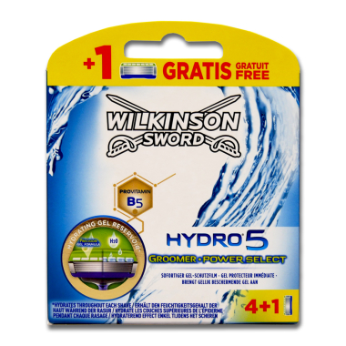 Wilkinson Hydro5 Groomer Power Select razor blades, pack...