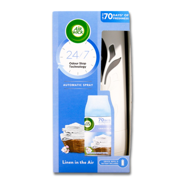 Air Wick Freshmatic Starter Kit Linen in the Air, 250 ml