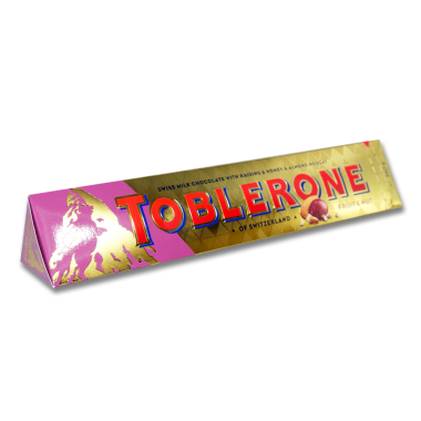 Toblerone Fruit & Nut milk chocolate with raisins and...