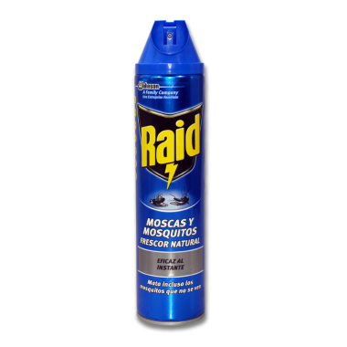 Raid insect spray, 600 ml