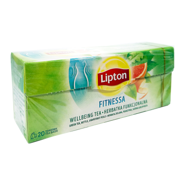 Lipton Green Tea Fitness with with vitamin C, pack of 20