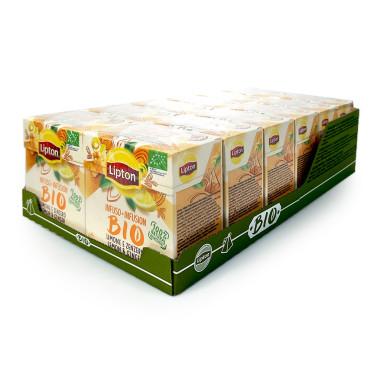 Lipton Tea infusion BIO Ginger & Lemon, pack of 20 x 12
