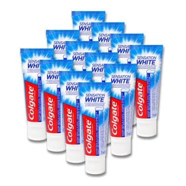Colgate toothpaste Sensation White Promo Pack, 3 x 75 ml x 4