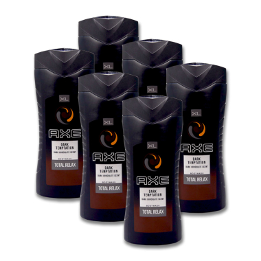Axe shower gel Dark Temptation XL, 400 ml x 6
