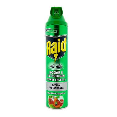 Raid Home & Garden Insect Killer Spray, 600 ml x 6