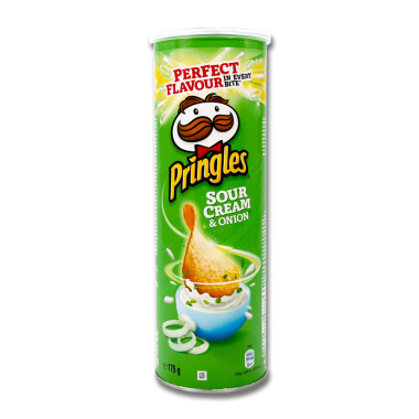 Pringles Chips Sour Cream & Onion, 175 g