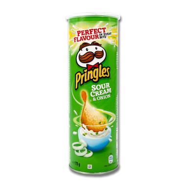 Pringles Chips Sour Cream & Onion, 175 g x 19