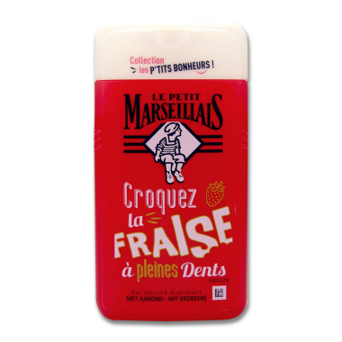 Le Petit Marseillais shower cream Strawberry, 250 ml