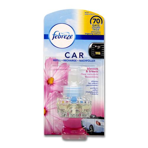 Febreze Car air freshener Fresh Escapes blossom & breeze refill, 7 ml